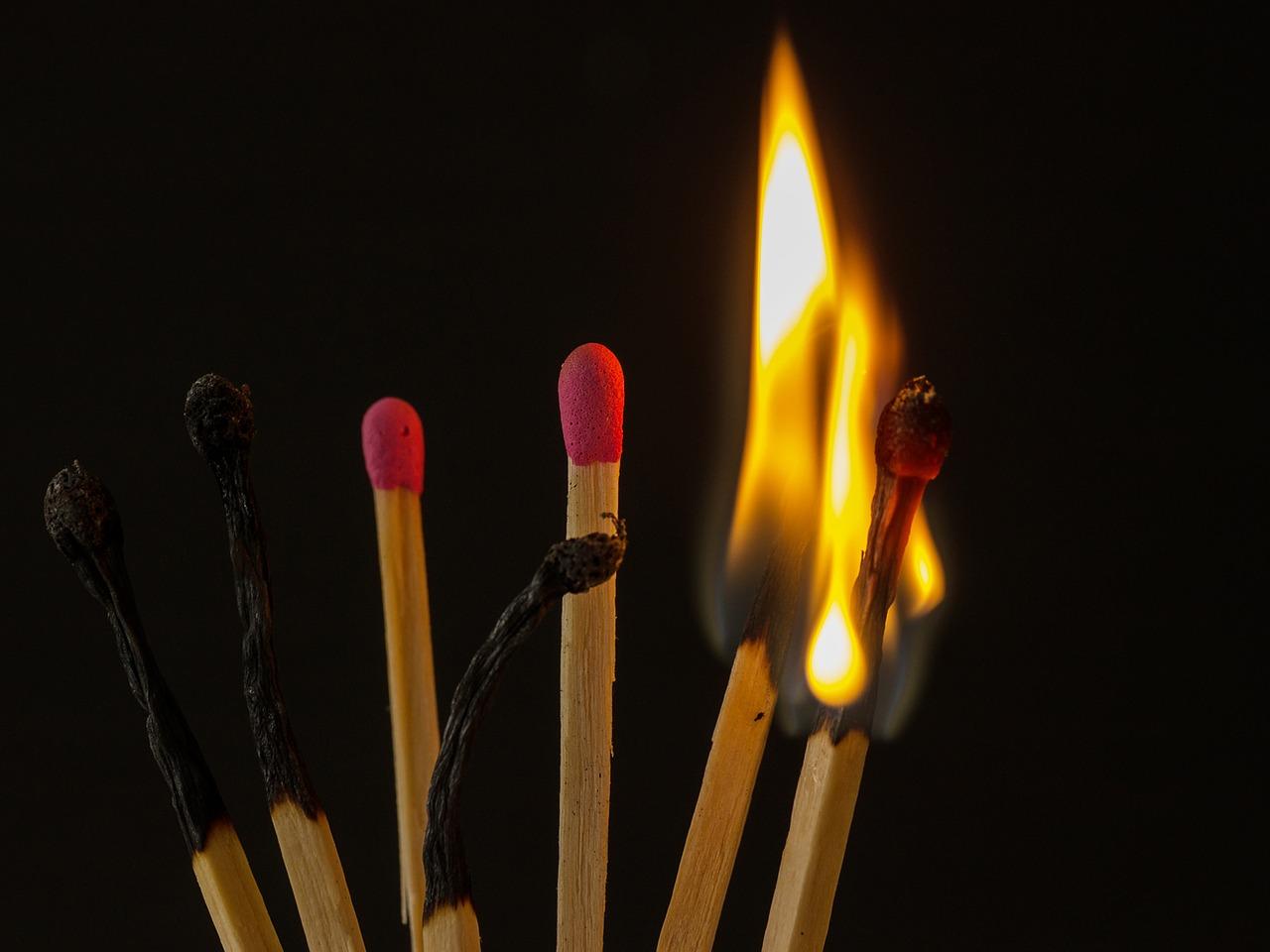 Een burn-out vergelijken met een opgebrande lucifer deugt niet